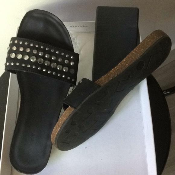 908c8cafbfe9 graceland Shoes - Graceland leather embellished sandals